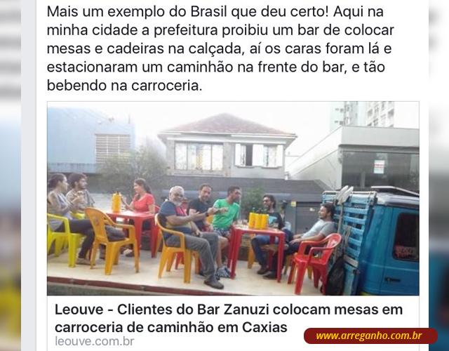 Costumo dizer que é Brasil