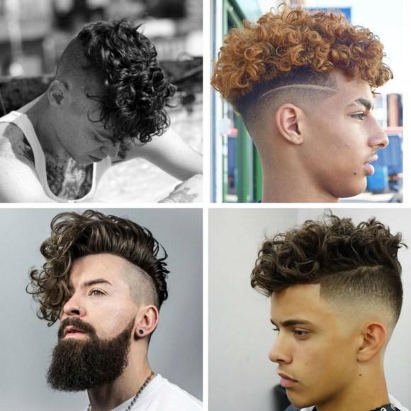 cortes de pelo rizado para hombre