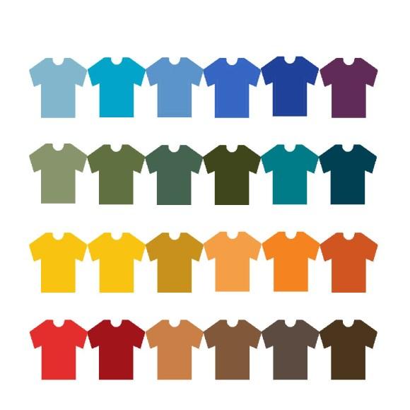 colores para ropa hombre
