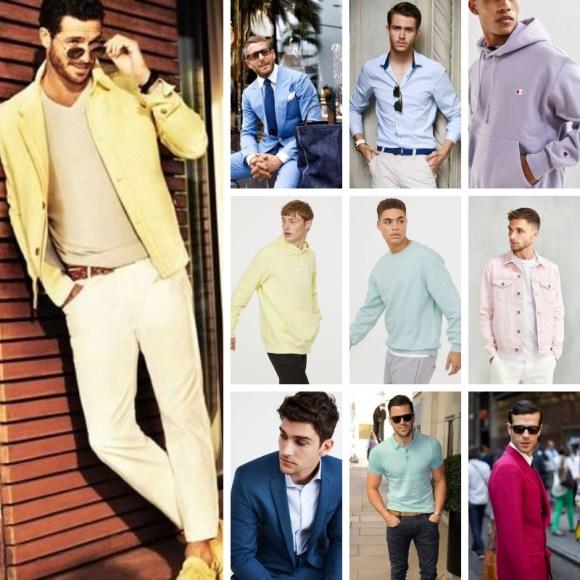 que colores vestir hombres de verano