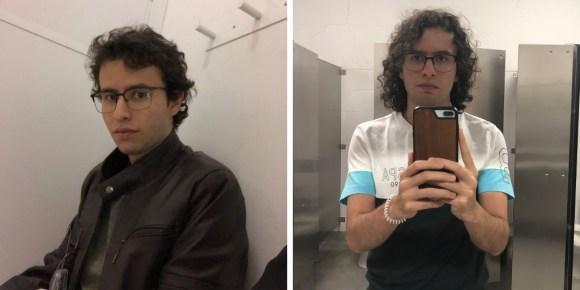 pelo largo hombres