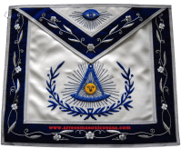 High End Past Master Aprons : 00R5 Masonic Past master apron