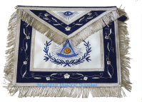High End Past Master Aprons : 00R6 Masonic Past Master Apron