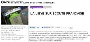 Owni - surveillance française en Libye - juin 2011