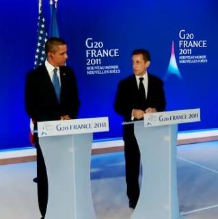 Nicolas Sarkozy - Barack Obama - g20 Cannes - 03/11/11 - whitehouse.org
