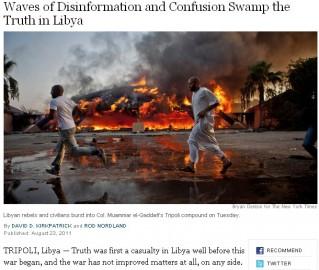 NYT Libye
