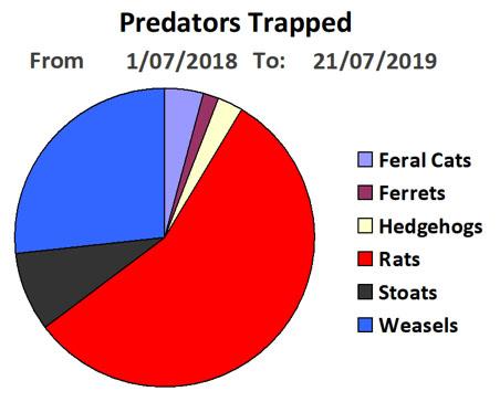 breakdown predators trapped