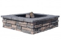 Square Fire Pit Ring - Fire Pit Ideas