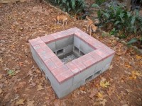 Concrete Block Fire Pit - Fire Pit Ideas