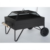 Fire Pit With Wheels - Fire Pit Ideas