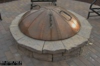 Fire Pit Covers Round Metal