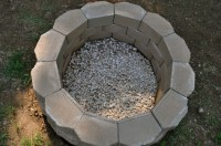 Building A Fire Pit With Retaining Wall Blocks - Fire Pit ...