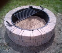 Steel Ring For Fire Pit