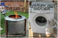 Washer Drum Fire Pit - Fire Pit Ideas
