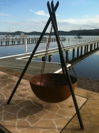 Hanging Fire Pit - Fire Pit Ideas