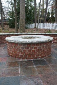 Red Brick Fire Pit - Fire Pit Ideas