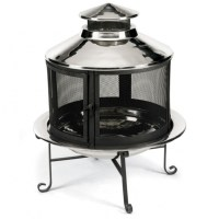 Fire Pit With Chimney - Fire Pit Ideas