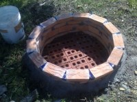 How To Make A Brick Fire Pit - Fire Pit Ideas