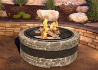Wood Burning Stone Fire Pit - Fire Pit Ideas