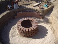How To Build A Brick Fire Pit - Fire Pit Ideas