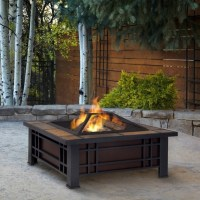 Large Wood Burning Fire Pit - Fire Pit Ideas