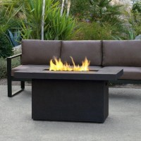 Rectangular Gas Fire Pit Table - Fire Pit Ideas