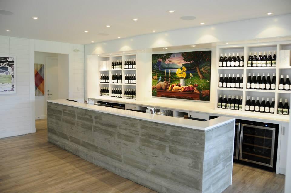 Liquidity Winery Tasting Area