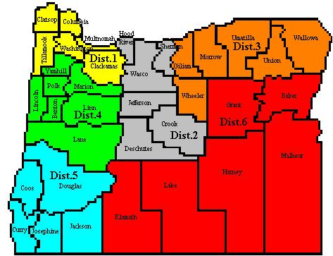 ARRL Sections  Oregon