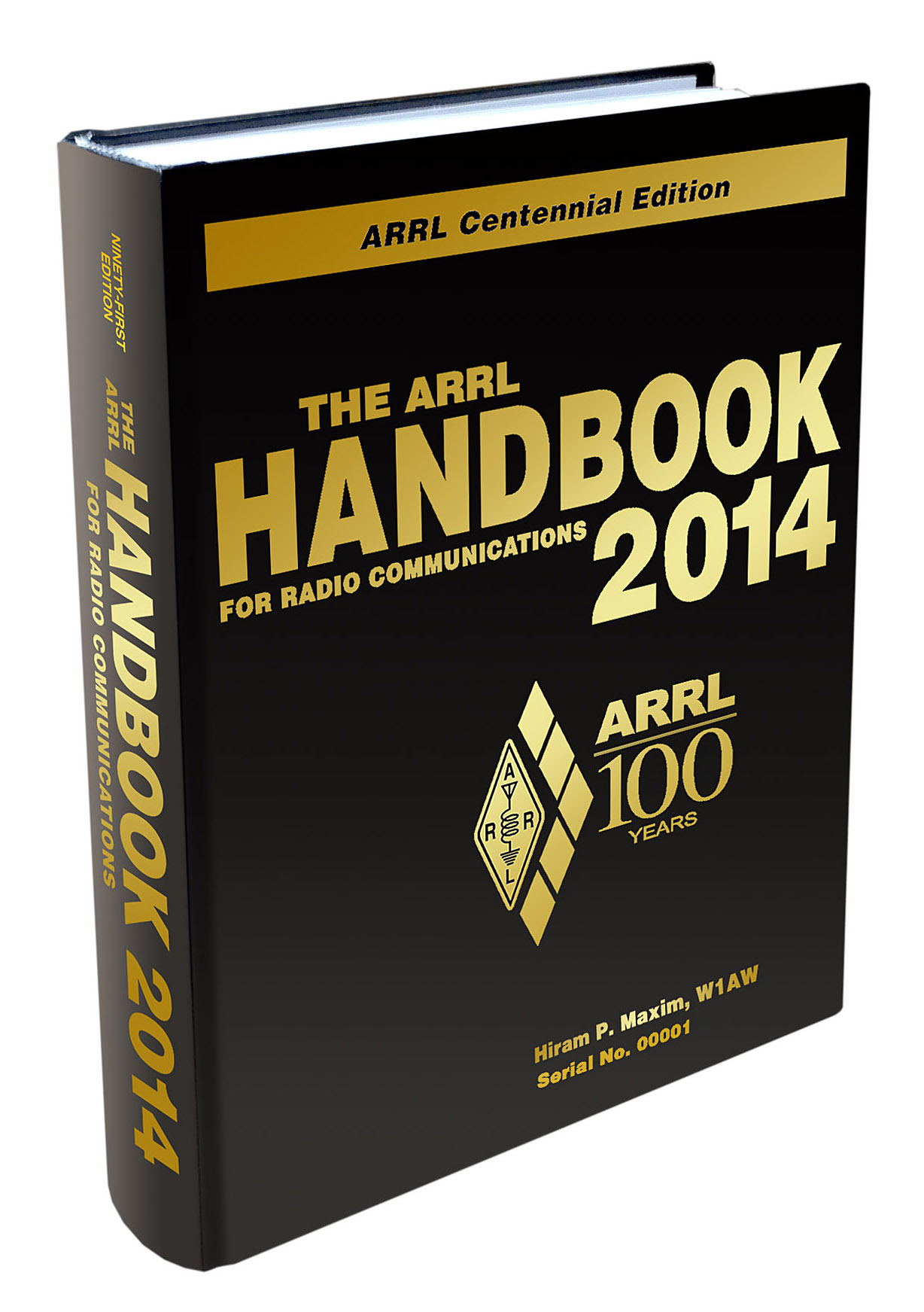 ARRL Now Taking Orders for Personalized Hardcover 2014 Handbook