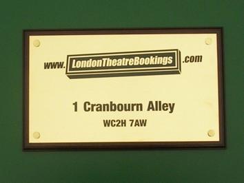 business plaques