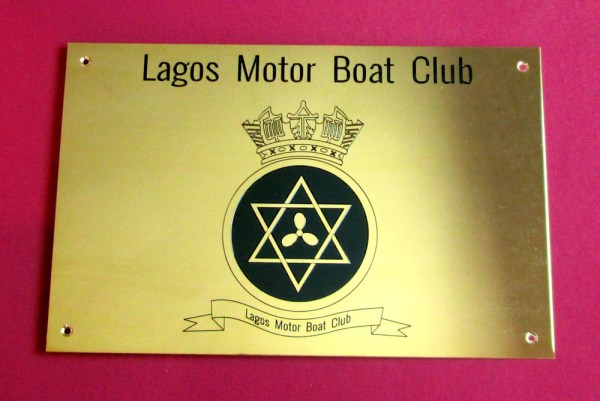 brass plaques