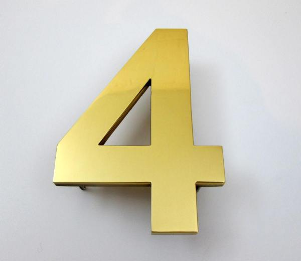 big brass house numbers