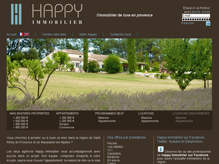Immobilier Saint Rmy de Provence vente biens de qualit