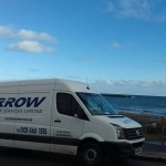 "img src=""arrow-6-crafter-scotland-trip.jpg"" alt=""Arrow Courier Services Crafter by the Sea in Scotland"""