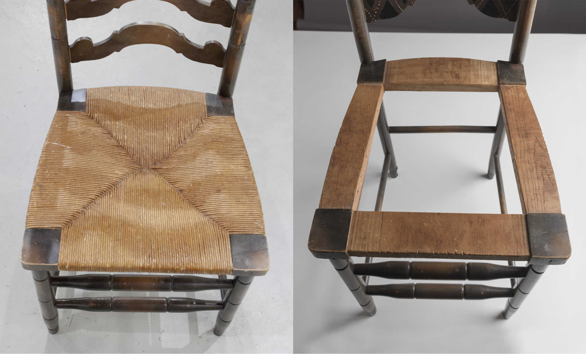how to cane a chair contemporary living room chairs upcycle seat in 9 easy steps arrow fastener recane