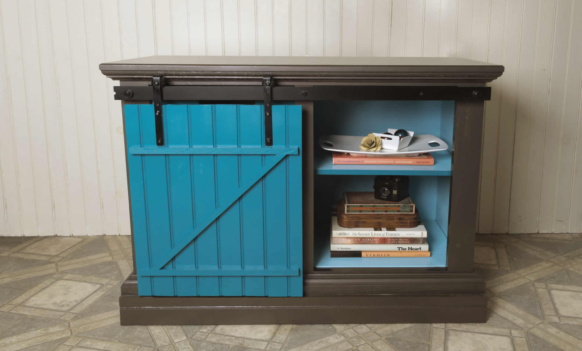Sliding Barn Door Can Upcycle Any Old Cabinet  Arrow Projects
