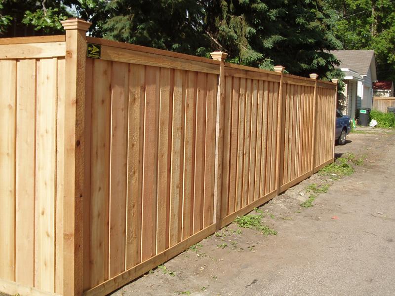 wood fence installation mn