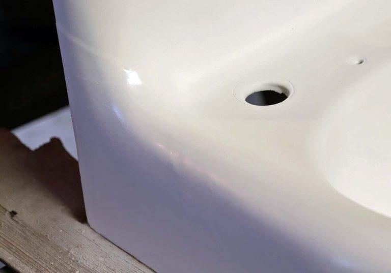 cast iron sink restoration powder