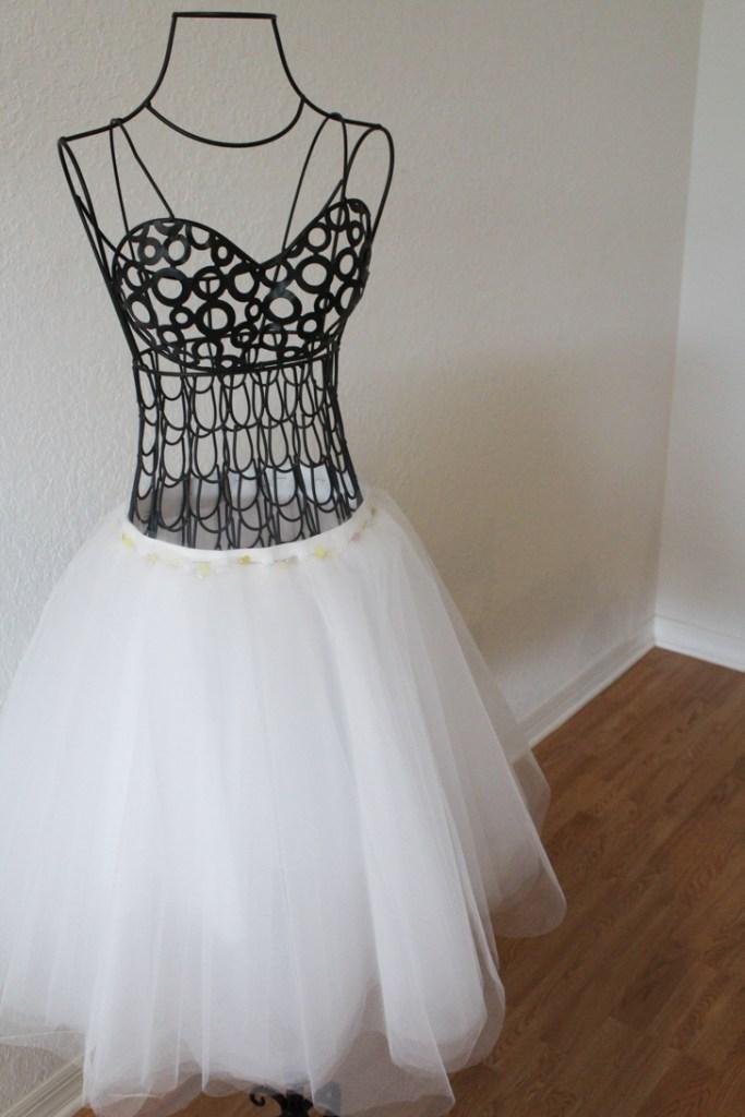 DIY Tulle Skirt-7