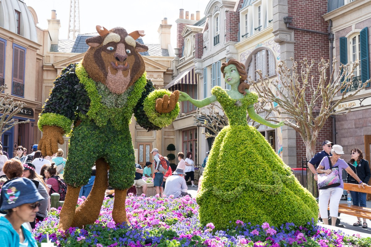 Epcot Flower and Garden Fest 2017