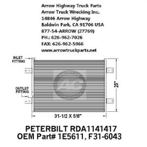 Peterbilt 379 Air Cleaner, 15