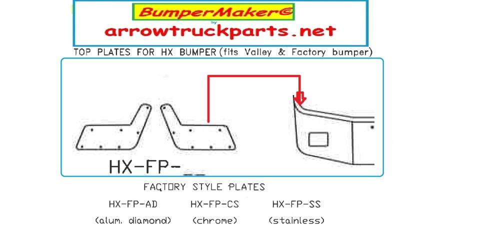 medium resolution of bumpermaker peterbilt 367 step plates set back axle 2007 newer