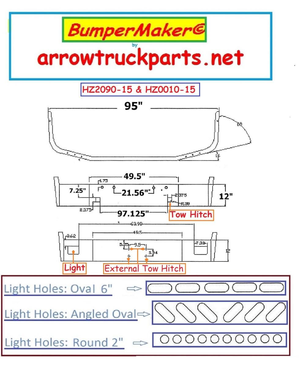 medium resolution of bumpermaker peterbilt 367 set back axle 2007 newer