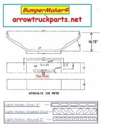 peterbilt 335 bumper [ 1061 x 1130 Pixel ]