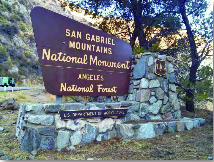 Image result for san gabriel mountains signs