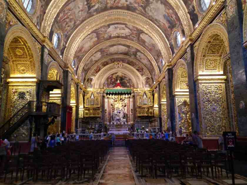 St. John's Co-Cathedral (Valletta) inside