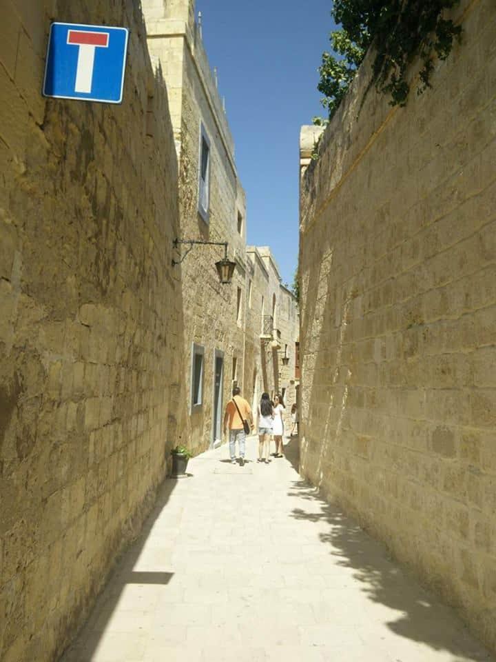 Mdina Silent City street
