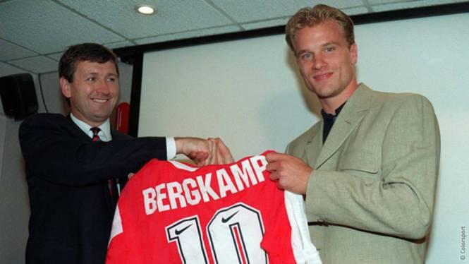 Image result for bergkamp signs for arsenal