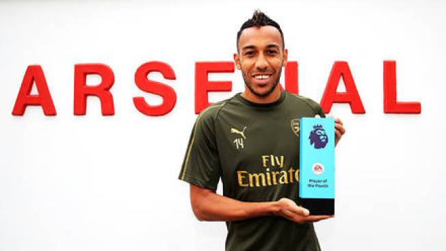 Image result for auba october player of the month