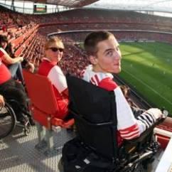Wheelchair Emirates Caravan Zero Gravity Chair Arsenal Fc Access Statement The Club News Com Stadium